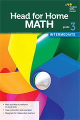 Head for Home Math  Intermediate Workbook Grade 3-9780544038349