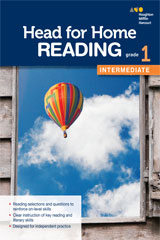 Head for Home Reading  Intermediate Workbook Grade 1-9780544038394