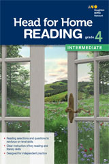 Head for Home Reading  Intermediate Workbook Grade 4-9780544038448