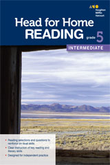 Head for Home Reading  Intermediate Workbook Grade 5-9780544038455