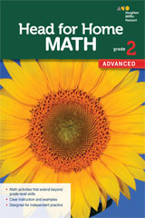 Head for Home Math  Advanced Workbook Grade 2-9780544038509