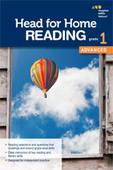 Head for Home Reading  Advanced Workbook Grade 1-9780544038554