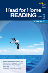 Head for Home Reading  Advanced Workbook Grade 3-9780544038578