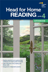 Head for Home Reading  Advanced Workbook Grade 4-9780544038608