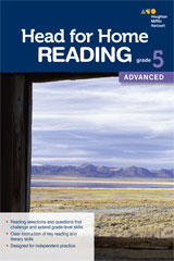 Head for Home Reading  Advanced Workbook Grade 5-9780544038615