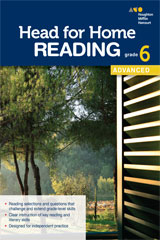 Head for Home Reading  Advanced Workbook Grade 6-9780544038622