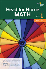 Head for Home Math  Novice Workbook Grade 1-9780544038639