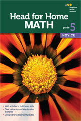 Head for Home Math  Novice Workbook Grade 5-9780544038677