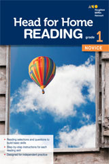 Head for Home Reading  Novice Workbook Grade 1-9780544038707