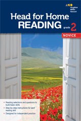 Head for Home Reading  Novice Workbook Grade 2-9780544038714
