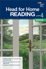 Head for Home Reading  Novice Workbook Grade 4-9780544038745
