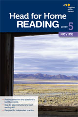 Head for Home Reading  Novice Workbook Grade 5-9780544038752