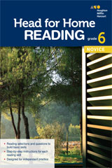 Head for Home Reading  Novice Workbook Grade 6-9780544038769