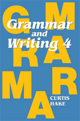 Grammar & Writing  Student Textbook Grade 4-9780544044203