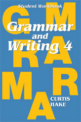 Grammar & Writing  Student Workbook Grade 4-9780544044210