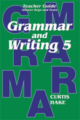 Grammar & Writing  Teacher Edition Grade 5 2nd Edition-9780544044258