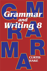 Grammar & Writing  Student Textbook Grade 8 2nd Edition-9780544044326