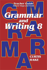 Grammar & Writing  Teacher Edition Grade 8 2nd Edition-9780544044340