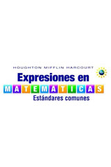 Expresiones en matemáticas  Student Activity Book (Softcover) with Mathboards Grade 6-9780544045217