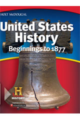 United States History: Beginnings to 1877 1 Year Student Edition eTextbook ePub-9780544045873