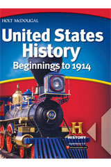 United States History: Beginnings to 1914 1 Year Student Edition eTextbook ePub-9780544045880