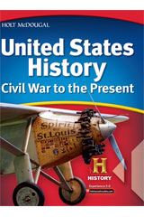 United States History: Civil War to the Present 1 Year Student Edition eTextbook ePub-9780544045897