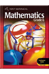 Holt McDougal Mathematics 1 Year Student Edition eTextbook ePub Grade 6-9780544045972