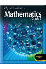 Holt McDougal Mathematics 1 Year Student Edition eTextbook ePub Grade 7-9780544045989