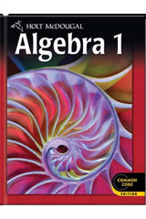Holt McDougal Algebra 1  Student Edition eTextbook ePub 1-year-9780544046009