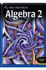 Holt McDougal Algebra 2 1 Year Student Edition eTextbook ePub-9780544046368
