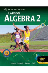 Holt McDougal Larson Algebra 2 1 Year Student Edition eTextbook ePub-9780544046399