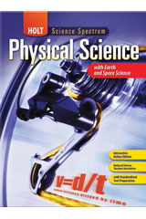Holt Science Spectrum: Physical Science with Earth and Space Science 1 Year Student Edition eTextbook ePDF-9780544046528