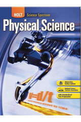Holt Science Spectrum: Physical Science  Student Edition eTextbook ePDF 1-year-9780544046597