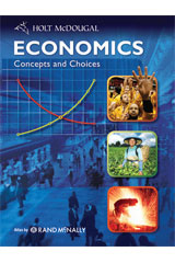 Economics: Concepts and Choices Student Edition eTextbook ePDF 1-year