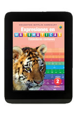 Math Expressions  Student Activity Book eTextbook ePub 1-year Grade 2-9780544051102