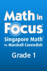 Math in Focus: Singapore Math 1 Year Subscription Student Edition eTextbook ePub Grade 1-9780544058231