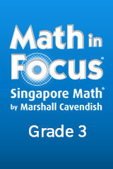 Math in Focus: Singapore Math 1 Year Subscription Student Edition eTextbook ePub Grade 3-9780544058644