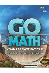 Go Math! Spanish  Student Interactive WorkText Grade 6-9780544064102