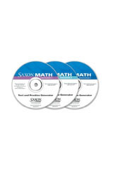 Saxon Math Intermediate 3  Online Test and Practice Generator ExamView, 6-Year-9780544079335