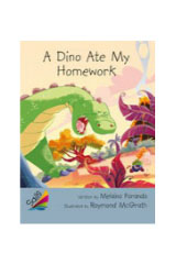 Rigby Sails Advanced Fluency  Leveled Reader 6pk Silver A Dino Ate My Homework-9780544082120
