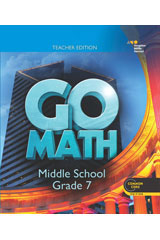 Go Math! 1 Year Online Teacher Resource Management Center Grade 7-9780544083103