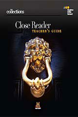 Collections 1 Year Online Close Reader, Teacher Access Grade 12-9780544090279