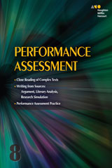 Collections  Online Performance Assessment Teacher's Guide 7-year Grade 8-9780544091832