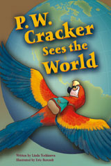 Steck-Vaughn Pair-It Books Proficiency Stage 5  Leveled Reader Bookroom Package P.W. Cracker Sees The World-9780544092594