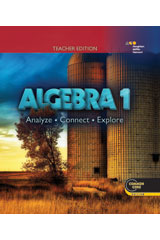Holt McDougal Algebra 1  Teacher Edition-9780544098909