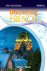 Discovering French Today  Workbook with Review Bookmarks Level 2-9780544107113