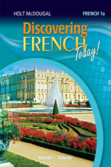 Discovering French Today  Workbook with Review Bookmarks Level 1A-9780544108110