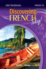 Discovering French Today  Workbook with Review Bookmarks Level 1B-9780544108141