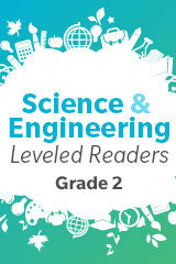Science and Engineering Leveled Readers  Extra Support Reader 6-pack Grade 2 What Are Some Characteristics of Animals and Plants?-9780544112742