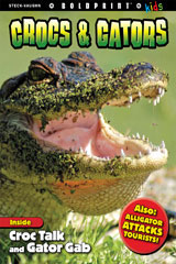 Steck-Vaughn BOLDPRINT Kids Anthologies  Leveled Reader 6pk Crocs and Gators-9780544128859